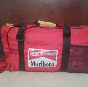 Marlboro Sport Red Duffel Bag